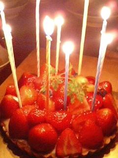 お誕生日は盛大に。
