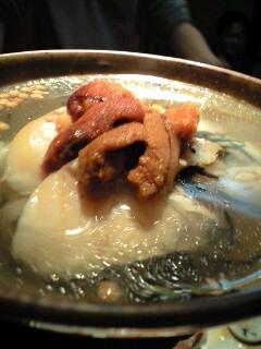 漬真鯛と雲丹のお茶漬け